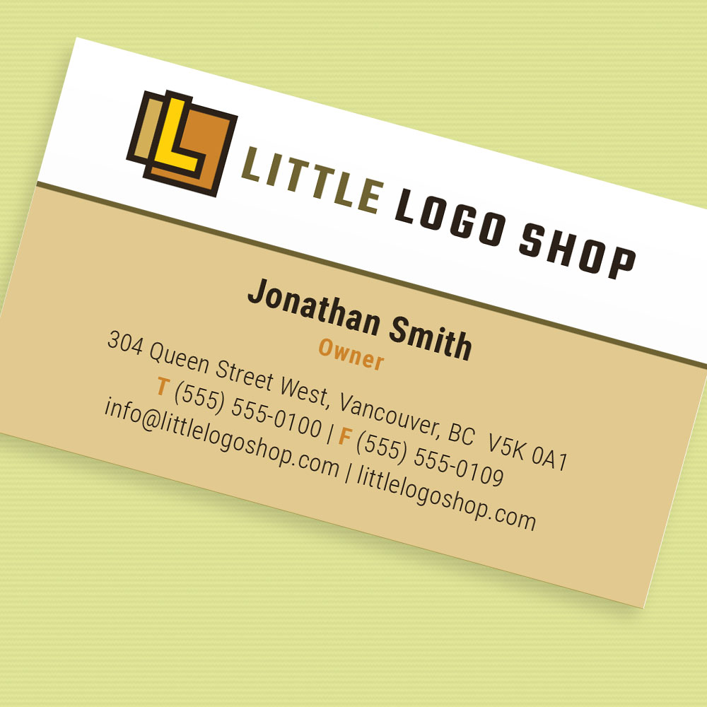 Canyon Business Card